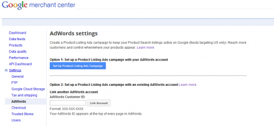Step 1: Setting Up Product Listing Ads in Google Merchant Center