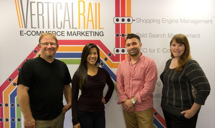 Vertical Rail Ecommerce Marketing Team At IRCE