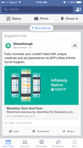 Example of Native Ad