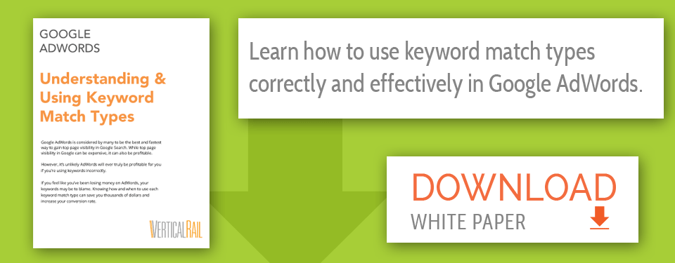 How To Use Keyword Match Types In Google Adwords