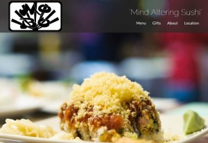 New Mobo Sushi Restaurant Website Launch
