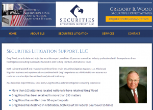 New Greg Wood Securities Expert Website Launch