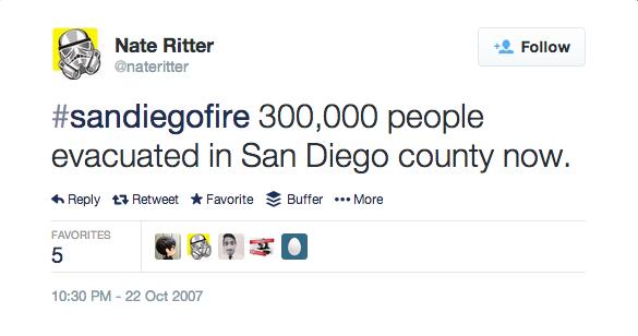 nate ritter tweet #sandiegofire