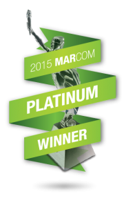 Vertical Rail Wins Prestigious Marcom Platinum Award