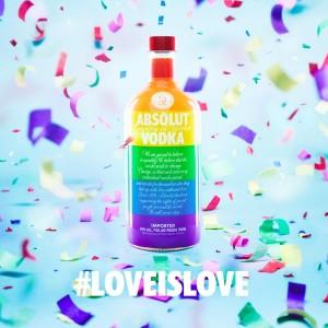 #LoveIsLove Absolut