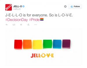 Hashtag #Pride Jello-O
