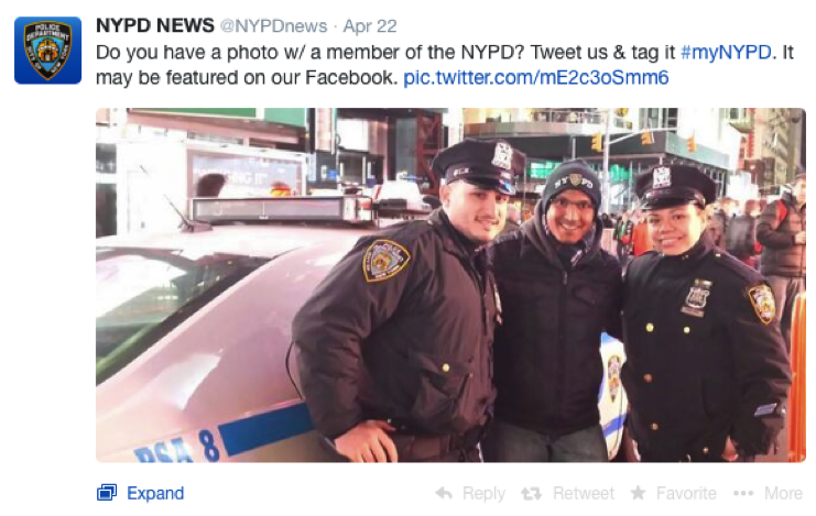 #mynypd first post