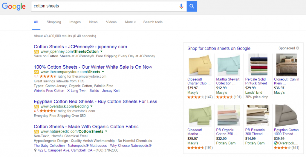 Google shopping ad changes