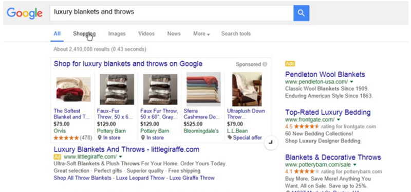 Google Shopping changes with PLAs