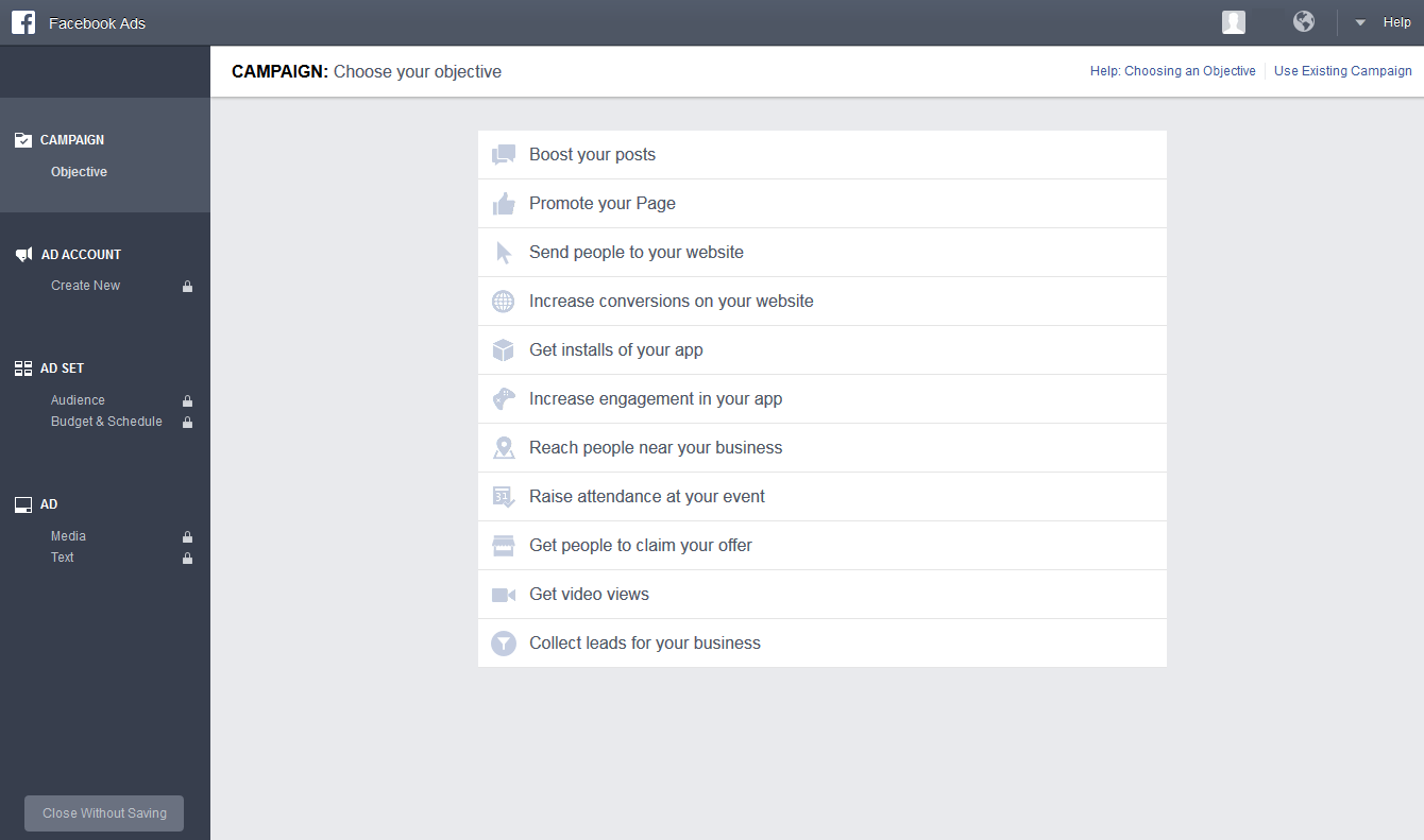 how to look on facebook without an account
