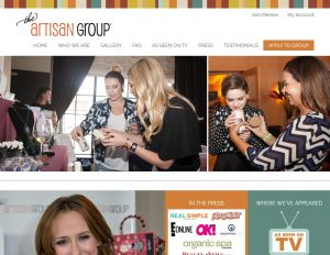The Artisan Group New Website Launch