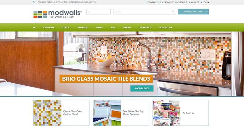 Modwalls website