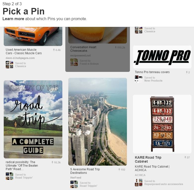 Pinterest Pick a Pin