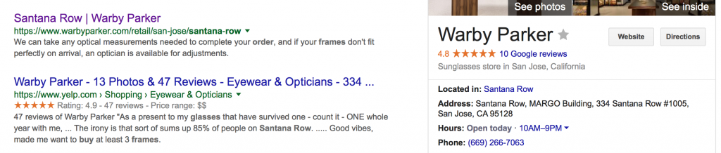 rich snippets company