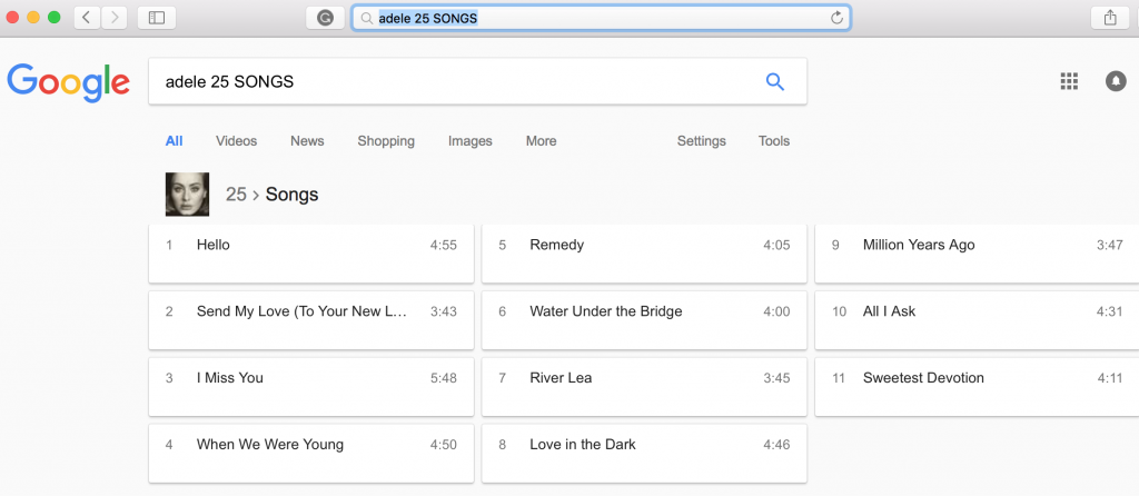rich snippets album songs