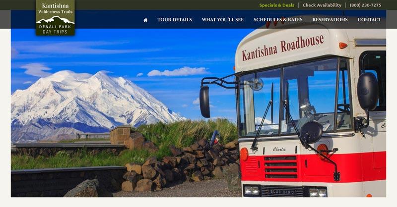 Kantishna Wilderness Trails website