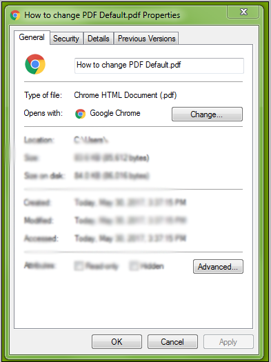 How to Disable Google Chrome as the Default PDF Viewer