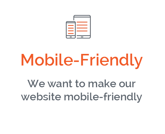 I want to make my website mobile-friendly