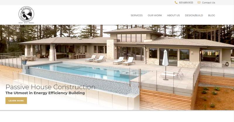 Talmadge Construction website