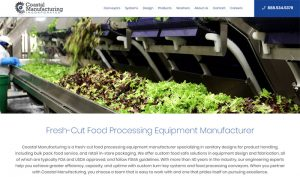 Coastal Manufacturing Website Launched