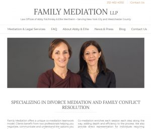 New Website Launch for Family Mediation LLP