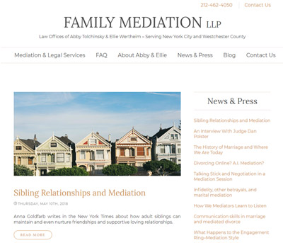 Family Mediation blog