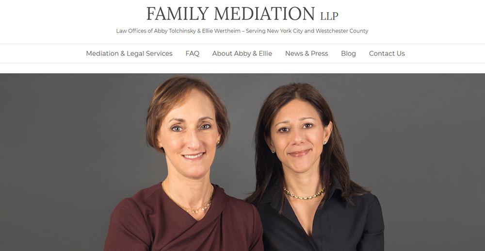 family mediation website