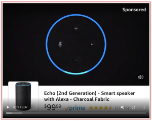 Amazon Video in Search Ads